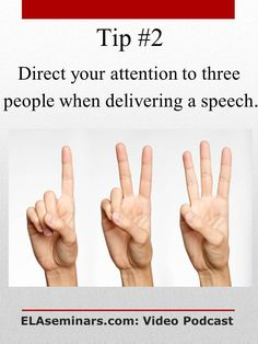 Fight your fear of public speaking!