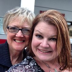 """@Debbie Jewell's photo: """"#selfiewithmom - check this out #omni"""""""