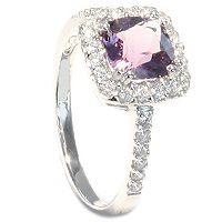 Viola - En nydelig ring med ametyst - Viola Diamantring