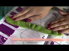 Aprenda a fazer um lindo sapatinho de bebê em tricô - YouTube