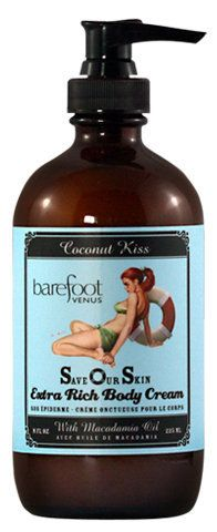 Barefoot Venus Save Our Skin Cream Coconut Kiss review - A Girl's Gotta Spa!