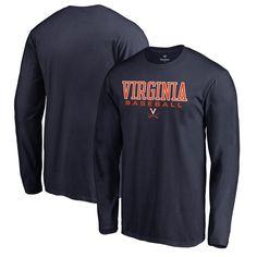 31ec3a108c3 Virginia Cavaliers Fanatics Branded True Sport Baseball Long Sleeve T-Shirt  - Navy