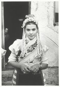 Markéta Luskačová - Šumiac (1969-1974) Folk Costume, Costumes, Traditional Outfits, Celtic, Culture, Black And White, Beautiful, Travelling, Inspired