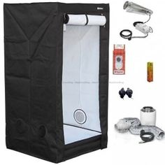 HOMEbox® Evolution Q80. Kit, HPS 400w Cooltube #Gardening
