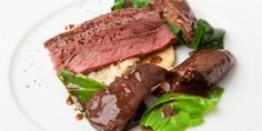 Kevin Mangeolles serves delicious hare with bitter chocolate and rich creamed celeriac recipe, perfect for a winter meal.