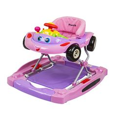 Dream On Me Ragtop 2 in 1 Walker and Rocker Color: Pink 409-P,    #Dream_On_Me_409-P