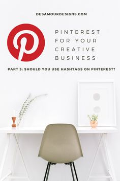 Should you use hashtags on Pinterest? Learn more about how to best use them on this search engine and how they can help your small business.  This Social Media Pinterest Series walks you through all the steps of creating the most profitale Pinterest account for your creative business. Types Of Small Business, Pinterest App, Pinterest Account, Crochet Blanket Edging, Secret Boards, Craft Stash, Handmade Market, Craft Show Displays, Creative Business