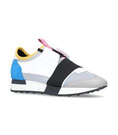 Balenciaga leather-race-runner-sneakers Scarpe Balenciaga 1b5016be08a