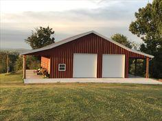 Garage Shop, Garage House, Steel Homes, Workshop Design, Pole Barns, Garage Workshop, Man Stuff, Building Plans, Shop Ideas