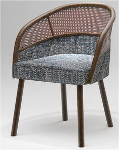 Best Hotel Armchair – Dali Chair By Nathan Anthony Furniture Cane Furniture, Rattan Furniture, Furniture Upholstery, Furniture Styles, Furniture Design, Indochine, Dining Arm Chair, Barrel Chair, Cool Chairs