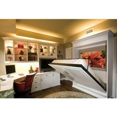 Calgary Custom Closets Murphy Bed - Murphy beds can be stylish.
