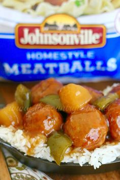 Crock Pot Sweet Sour Meatballs is the most unbelievably yummy recipe! Serve them as an appetizer or over rice to make it a full meal! Sweet N Sour Meatball Recipe, Sweet And Sour Meatballs, Meatball Recipes, Meatball Appetizers, Slow Cooker Recipes, Crockpot Recipes, Cooking Recipes, Crockpot Dishes, Dishes Recipes