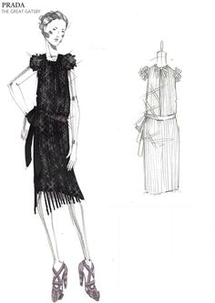 Prada - The Great Gatsby costumes