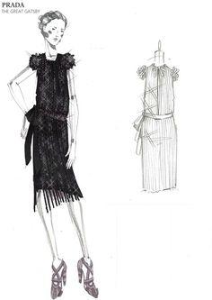 Prada - The Great Gatsby costumes