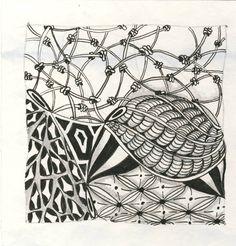 zantangle | Swift Weavers: Zentangle Challenge - Pendrills