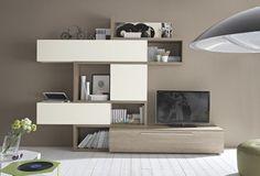 Soggiorni moderni Mito QZ0054 #soggiorno #arredamento #madeinitaly #design #living #furnishing #pensarecasait