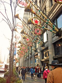 @Macy's (Marshall Field & Company) on State Street, Chicago - December 2012