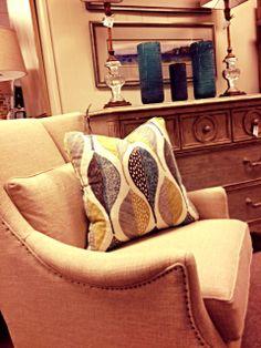 Fun pillows @ OP Jenkins Furniture and Design
