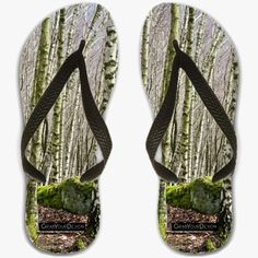 Flip Flops UK sizes 7 / 7.5 / 8 - Birches  - by PINO