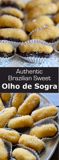 Olho of Sogra is a famous Brazilian confectionery prepared with beijinho, a…