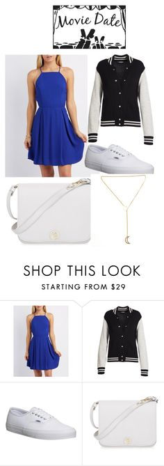 """""""Movie Date outfit pt.2"""" by jsd13711 on Polyvore featuring Charlotte Russe, Marc Jacobs, Vans and Furla"""