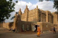 UNESCO debate sobre conservación de la arquitectura de barro