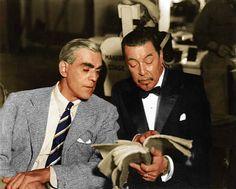 Warner Oland and Boris Karloff co -starred in Charlie Chan at the Opera 1936
