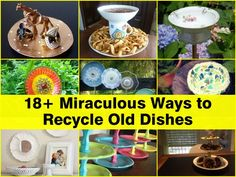 Old dishes can bring new life into your world, and turning them into those fabulous creations is something that anyone can easily do while having a great time crafting and creating. If you're totally perplexed about what to do with those old dishes, take a look at this post and uncover some of the very …