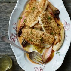 These best-ever pan-fried trout fillets with Meyer lemon vinaigrette get great flavor and crunch from fennel seed breadcrumbs. Get the recipe from Food & Wine.