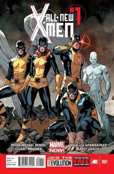 Marvel Now! All-New X-Men #1 - I just find this to be a striking cover.