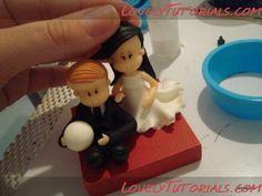 Жених и невеста-Groom and Bride - Мастер-классы по украшению тортов Cake Decorating Tutorials (How To's) Tortas Paso a Paso