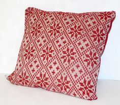 Nordik Handwoven Pillow by Bewove on Etsy, $75.00