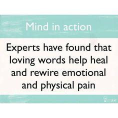 Speak healing into people's lives!