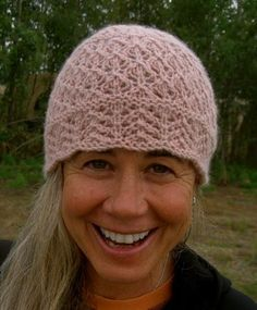 Soft Lace Chemo Hat - via  Craftsy Crochet Adult Hat 51431863294