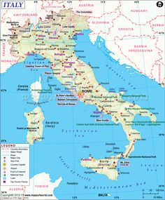 31 Best Italy Map images