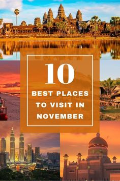 Southeast Asia weather is starting to improve and November sounds like a good idea to go to SE Asia. Check our guide and discover what are the 10 best places to visit in November. #november #traveltips #southeastasia #asia #travelguide