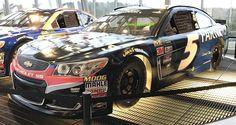 Jayski's® NASCAR Silly Season Site - 2017 NASCAR Cup Series #5 Paint Schemes