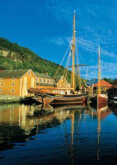 Mathilde built in 1884 at Hardanger Fartøyvernsenter in Norheimsund, Norway.