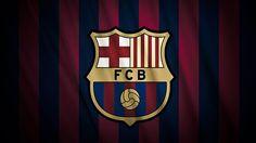 New Barcelona Football Logo 2013 Full HD Wallpaper