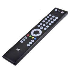 Mando a Distancia Negro para TV de 15 metros de alcance