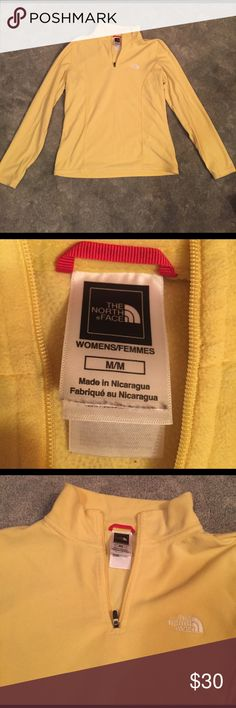 North Face fleece pullover Perfect condition North Face! Quarter zip. Super comfy! North Face Jackets & Coats