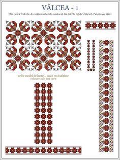 Semne Cusute: iie din OLTENIA, Valcea Folk Embroidery, Learn Embroidery, Cross Stitch Embroidery, Embroidery Patterns, Cross Stitch Patterns, Butterfly Embroidery, Cross Stitch Flowers, Embroidery Techniques, Dog Design