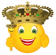 Smiley the king