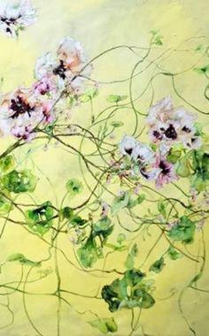 Claire Basler. Kunst Malerei. Botanik. Blumenmalerinnen. Malerei. Kunstblog von Tania Rivilis