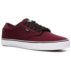 Vans Atwood Skate Sneaker - Mens (66 CAD) ❤ liked on Polyvore featuring shoes, sneakers, men, vans, guys, vans shoes, vans trainers, vans sneakers and vans footwear