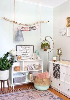 » I SPY DIY DESIGN | Baby Girl Nursery Makeover Baby Design, Kids Room Design, Nursery Design, Baby Room Decor, Nursery Decor, Nursery Ideas, Ideas Habitaciones, I Spy Diy, Nursery Inspiration