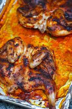 Devilish Asian Style Cornish Hen - another dream recipe from Elra's Cooking