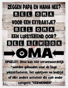 Oma en opa grappige quotes