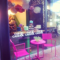 Cup & Cake, best little cafe in Queenstown. Hot chocolates to die for, cuteness plus!
