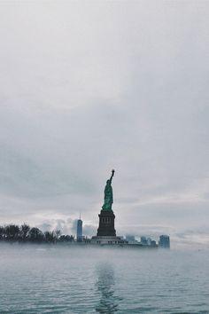 Freiheitsstatue / Statue of Liberty / Lady Liberty / Liberty Island - Manhattan, New York / Vereinigte Staaten von Amerika / United